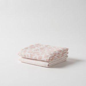 Citta Secret Garden Organic Cotton Muslin Wrap Set/2