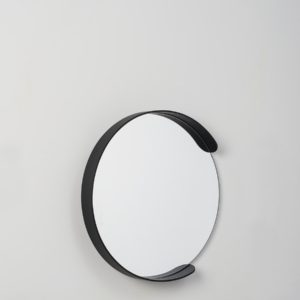 Citta Large Segment Mirror in Black