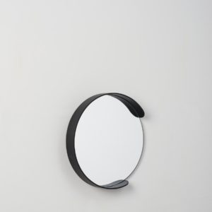 Citta Small Segment Mirror in Black