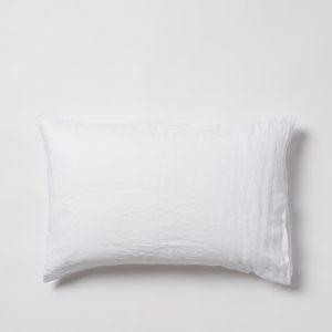 Citta Sove Linen Pillowcase Pair in White