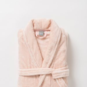 Spot Women's Nap Dressing Gown by Citta - Peony