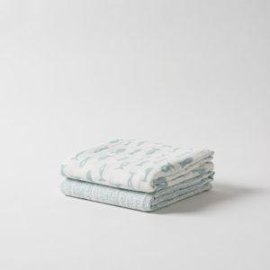 Citta Under The Sea Organic Cotton Muslin Wrap Set/2