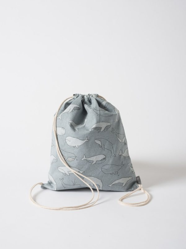 Citta Whale Of A Time Drawstring Wash Bag