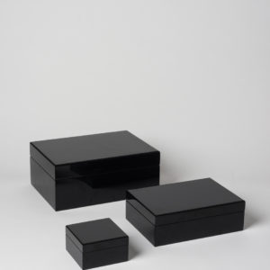 Citta Jewellery Box in Black