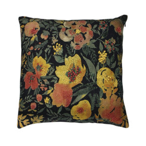 Fleur Pink & Yellow Flower Cushion
