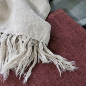 Mulberi Indira 100% Linen Throw