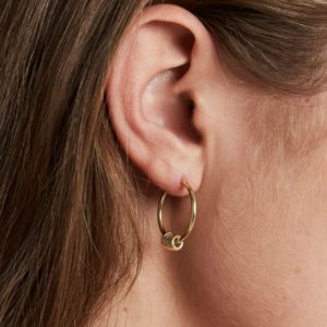Rosefield Iggy Multi Hoop Earrings in Gold